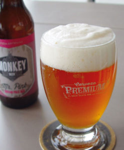 Cerveza Artesana Mr. Pink IPA Monkey Beer