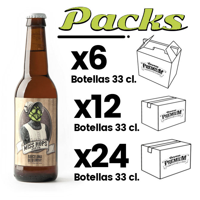 PACKS MISS HOPS IPA
